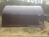 Shelter Logic 24x13 with peaked roof for sale