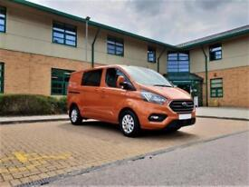 NEW Ford Transit Custom 2.0TDCi ( 130PS ) Double Cab-in-Van 2018 320L1H1