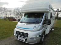 Autotrail Cherokee 4 berth 4 belts automatic fixed rear bed motor home