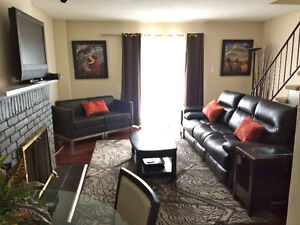 Co op Students: FULLY FURNISHED 3/4 BR townhouse for short term