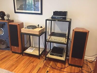 Tannoy D700 Series 2 Speakers Clean With Original Boxes Cherry Vintage