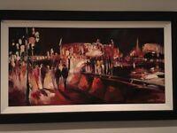 Save on ORIGINAL Csilla Orban painting - London South Bank