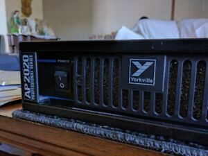 Yorkville AP-2020 Power Amplifier. Mint Condition