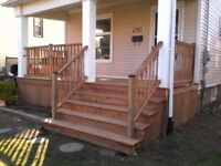 Fence and deck builder needed