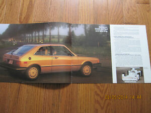 1979 VW Scirocco Dealer Brochure London Ontario image 2
