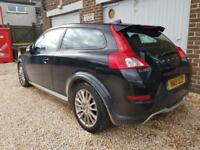 Volvo C30 1.6 SE DIESEL BLACK £0 ROAD TAX WARRANTY 12 MONTHS MOT FULL SERVICE H