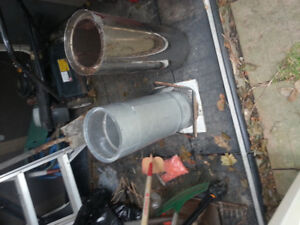 insulated stove pipe 2 ft piece