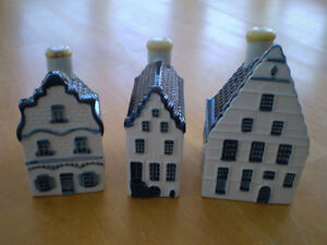 DELFT BLUE HOUSES BY KLM