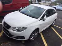 Seat Ibiza 2012 Plate 3 door. 1 owner with low mileage.