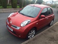 Nissan micra 2010 low mileage
