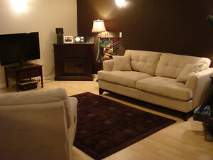 Spacious Basement suite with private entrance