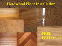 Hardwood Floor Installation - Free Estimate