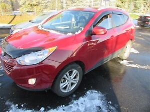 2012 Hyundai Tucson Limited AWD at