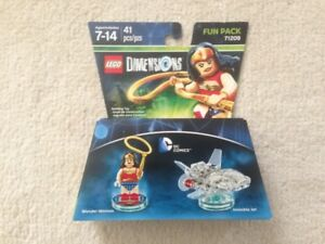 Lego Dimensions Wonder Woman Fun Pack New Unopened
