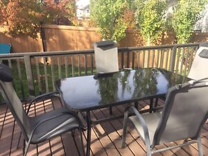 Good condition patio furniture