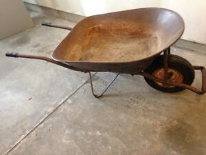Large Steel Wheelbarrow