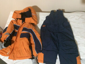 Jacket and snow pants