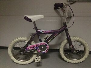 Bicycle fille 14po a vendre