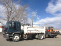 Bobcat and Dump Truck Services (403) 831-0658