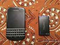 Used BlackBerry Q10 unlocked cell phone