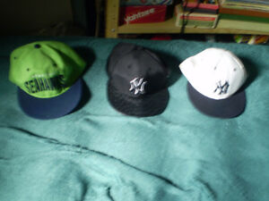 casquette de baseball (yankee) & NFL (seahawks)