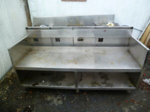 Stainless Steel Restaurant work table