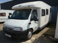 McLouise Tandy Plus 670 G Low profile 4 Berth Fixed Rear Bed with Large Garage