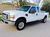 2008 FORD F-350 CREW CAB 4X4 DIESEL, LOOKS AND RUNS EXCELLENT! City of Toronto Toronto (GTA) Preview