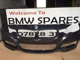 BMW F30 3 SERIES SPORT SALOON FRONT AND REAR BUMPER BREAKING BMW 1 3 5 6 7 X1 X3 X5