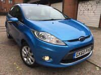 Ford Fiesta Zetec Automatic 5 doors 32K Miles, Full Service History Long Mot Px Welcome