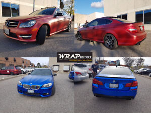 CAR WRAPS, VINYL CAR WRAPS, CAR WRAPPING, ROOFS, HOODS and more