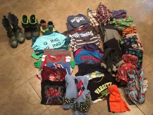 Boys wardrobe (3T-4T)