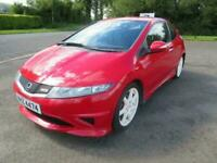 2010 HONDA CIVIC 1.4 I-VTEC TYPE S 3DR ONLY 73K 6-SPEED 2 OWNERS FOCUS MEGANE