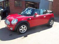Mini Cooper 1.6 Convertible. From £150 per month.