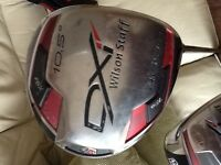 Wilson Staff DXi Driver and 3 Wood