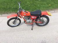 1977 Honda CT 125 / XL 125 Enduro bike mot'd