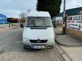 2004 04 MERCEDES-BENZ SPRINTER 2.2 308 CDI LWB 80 BHP**LOW MILES** DIESEL