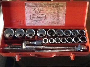 """Large wrench set. 7/8-2"""""""