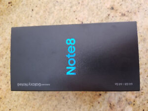Note 8, Brand New!! UNOPENED!!!!!! Sealed!!