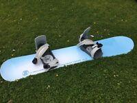 Snowboard- used twice