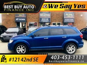 2015 Dodge Journey AWD R/T, NAV, DVD, 7 PASS, $149 BI-WEEKLY