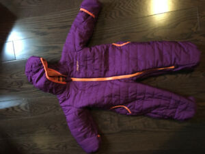 9-12 month snowsuit/fall cover. Practically brand new. Used once