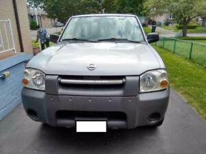 2002 Nissan Frontier Pickup Truck