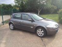 2006 Renault Megane 1.4 16v years mot