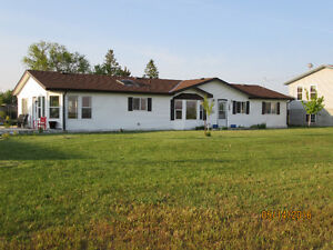 Comfortable home on large town lot in Stirling
