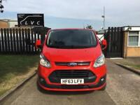 2013 63 FORD TRANSIT CUSTOM 2.2TDCI 290 LIMITED LOW ROOF 155BHP. AIR CON. ONLY 4