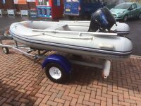 Rib boat 3m inflatable boat only