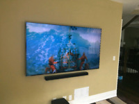 TV Mounting | Security Cameras | Wire Concealment $80