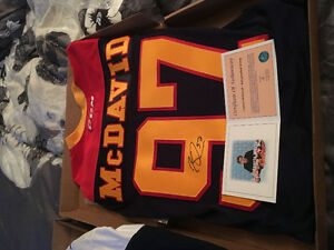 Autographed jerseys Edmonton Edmonton Area image 2