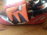 Mad rock climbing shoes UK size 4